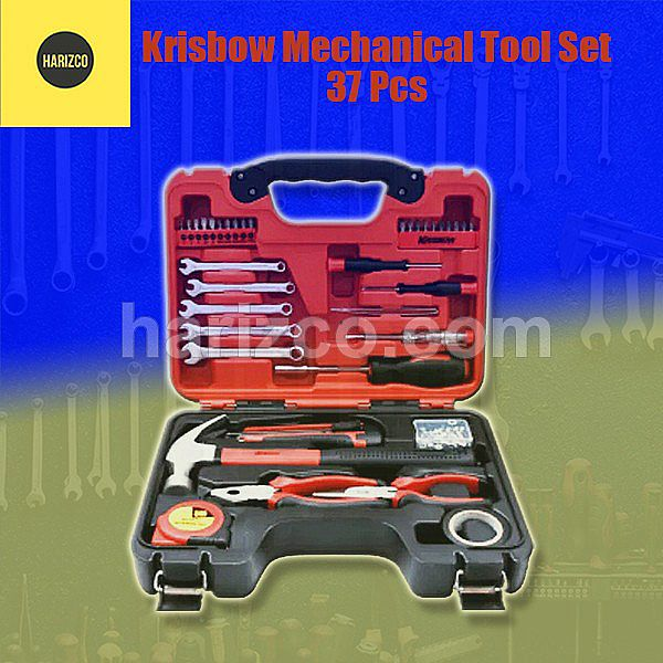 Tools Set - Krisbow Mechanical Tool Set 37 Pcs