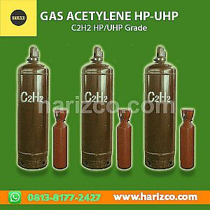 Jual Acetylene Grade UHP (Ultra High Purity)