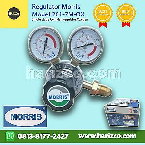 Jual Regulator Oksigen MORRIS Type 201-7M-OX