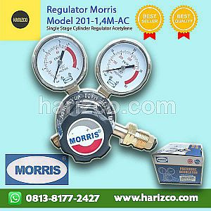 Jual Regulator Acetylene MORRIS Type 201-1,4M-AC
