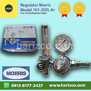 Jual Regulator Gas Argon Termurah Merk MORRIS Type 101-25FL-Ar