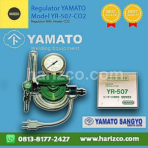 Jual Regulator Gas Carbon Dioxide YAMATO YR-507