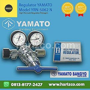 Jual Regulator Gas N2 High Pressure Yamato ASLI - Type YRN-5062N